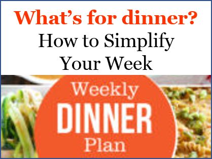 make dinner plan simple